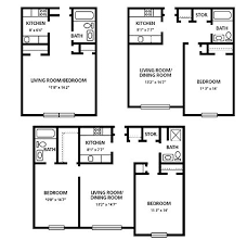 Apartment Designs And Floor Plans Small Two Bedroom Apartment Floor Plans Google Search