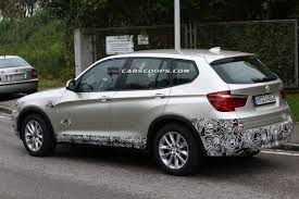 scoop 2015 bmw x3 makes a quick visit to the plastic surgeon