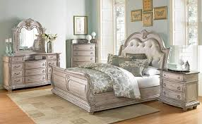 sleigh bed bedroom set von furniture palace ii bedroom set with sleigh bed in antique white