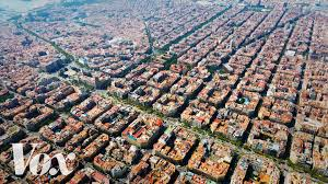 barcelona city view superblocks how barcelona is taking city streets back from cars