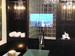 Mirror Tv Bathroom Vanity Mirror Tv Order Vanishing Television For Your Bathroom