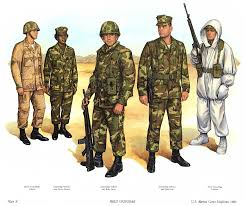 us marines uniforms circa 1983 cold war people places and war
