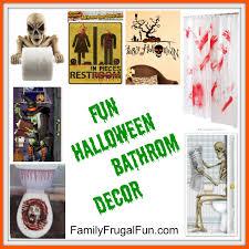 Crime Scene Bathroom Decor Halloween Bathroom Decor