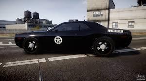 Dodge Challenger Police Car - dodge challenger marshal police els for gta 4