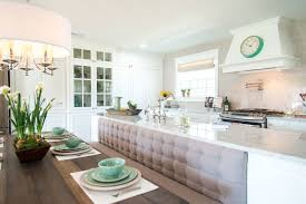 Kitchen Island With Bench Seating Episode 03 The Plain Gray Ranch Magnolia Market