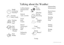 weather worksheet german english worksheet free esl printable
