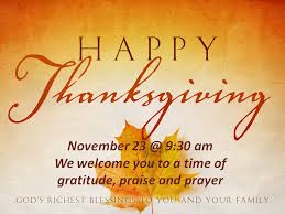 reformed church of fremont thanksgiving day