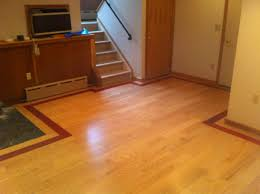Laminate Flooring Border Before And After Wood On Wheels Hardwood Flooring