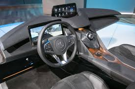 acura inside acura unveils its interior of the future automobile magazine