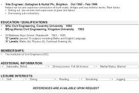 Sample Resume For Civil Site Engineer by Order Of The Engineer Resume