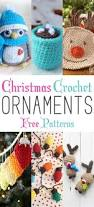 christmas crochet ornaments with free patterns free pattern