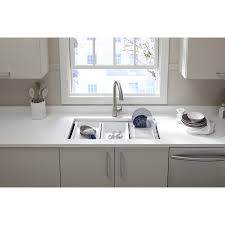Kohler Sinks Kitchen Kohler K 5540 Na Prolific 33 Undermount Single Bowl Kitchen Sink
