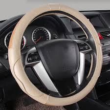 toyota corolla steering wheel cover aliexpress com buy car steering wheel cover genuine leather 38cm