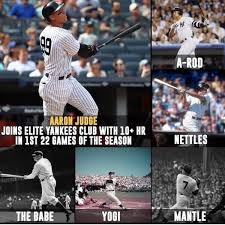 Aaron Judge Joins An Exclusive Club Of Yankees All Stars Pinstripe - team aaron judge thejudge 99 twitter