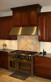 custom wood range hood kitchen cabinets with range hood dark