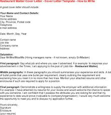 Example Of Waitress Resume by Waiter Cover Letter Example Icover Uk With Waitress Cover Letter