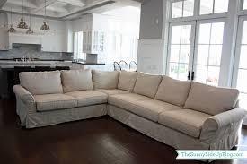 living room cushion sofa slipcover pottery barn rocking chair