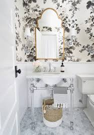 powder rooms with wallpaper one room challenge fall 2017 powder room reveal laura design company