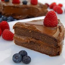 quinoa avocado chocolate fudge cake vegan gf recipe pin recipe