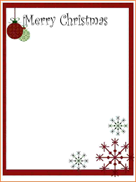 6 free printable christmas letter templates adjustment letter