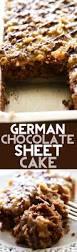 german chocolate sheet cake recipe coconut pecan frosting