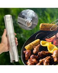 la cuisine sous vide générateur cylindrique de fumée froide easy smoke en acier inoxydable