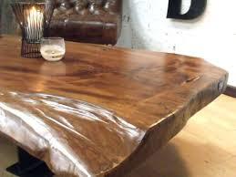 table cuisine bois brut table basse design en bois brut socialfuzz me