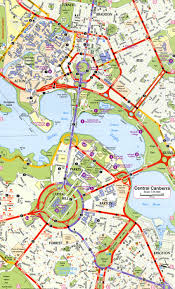 Travel Time Map Canberra Ring Road Map Explore The World With Travel Nerd Nici