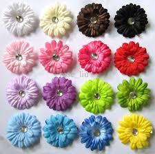gerbera colors 2 gerbera children s hair accessories baby flower clip