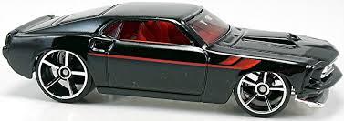 Black 69 Mustang 69 Ford Mustang U2013 79mm U2013 2007 Wheels Newsletter
