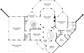 european house plan with 3 bedrooms and 2 5 baths plan 5985