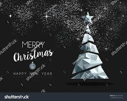 merry christmas happy new year fancy stock vector 451218190