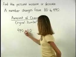 percent increase mathhelp com pre algebra help youtube