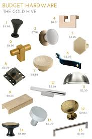 where to buy cheap cabinet pulls 15 unique cabinet knobs and pulls for 10 the gold hive