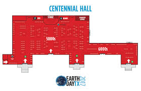 Centennial Hall Floor Plan Exhibitor Resources Earth Day Texas
