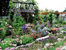 cottage flower gardens design decorating beautiful cottage