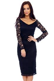 black lace dress bodycon sleeve dress in black lace she who pears wins