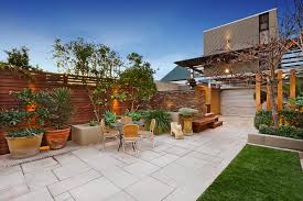 Patio Stone Ideas by Paver Stone Patio Ideas Patio Rustic With Border Plantings Deck