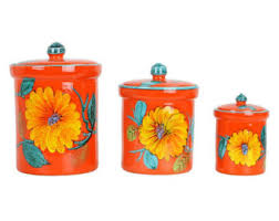 italian kitchen canisters canister set etsy