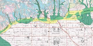 Fault Line Map State U0027s Map Shows Active Fault Under Millennium Park Labrea News