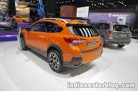 subaru india euro spec 2018 subaru xv interior at the iaa 2017 indian autos blog