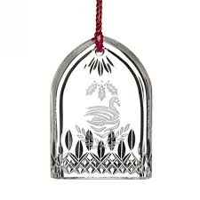 waterford 12 days of seven swans ornament annual