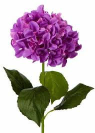purple hydrangea silk hydrangeas artificial hydrangea flowers silk flowers