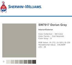 20 best sherwin williams dorian gray images on pinterest dorian