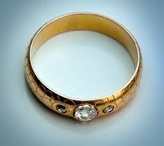 old wedding rings images Antique wedding rings unique gold diamond russian wedding band jpg