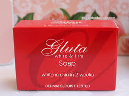 Gluta Soap real asian gluta white and firm skin whitening