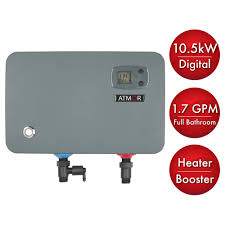 home depot black friday water heaters atmor 10 5 kw 240 volt 1 7 gpm electric tankless water heater on
