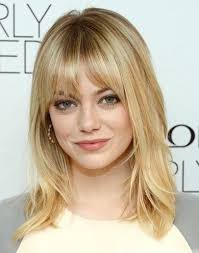 above shoulder length hairstyles with bangs best medium length hairstyles with highlights