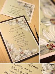 Carlton Wedding Invitations 109 Best Painted Floral Invites Images On Pinterest Watercolor