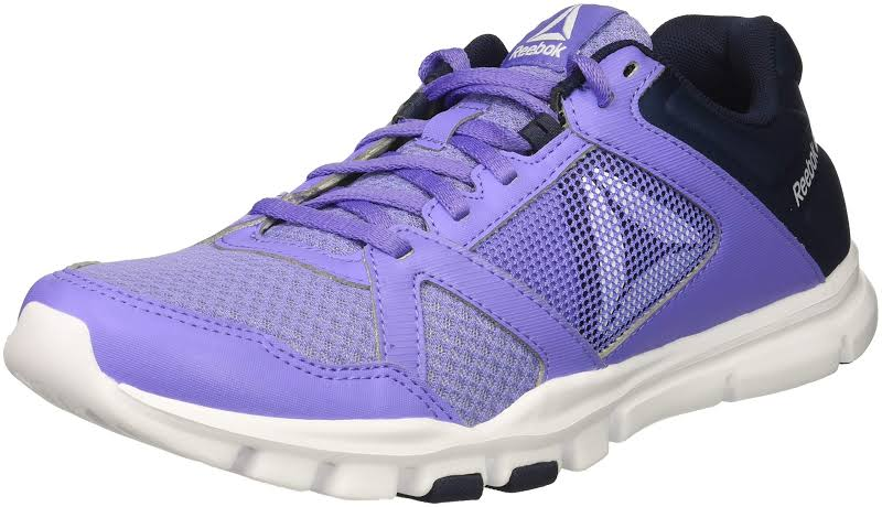 Reebok Yourflex Trainette 10 Purple Cross Training Shoes